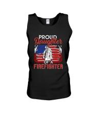 Proud Daughter Firefighter Unisex Tank thumbnail