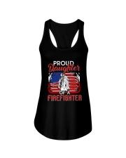Proud Daughter Firefighter Ladies Flowy Tank thumbnail