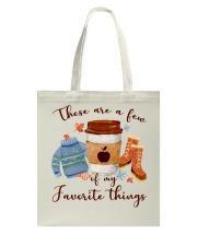 Favorite Things Teacher Tote Bag thumbnail
