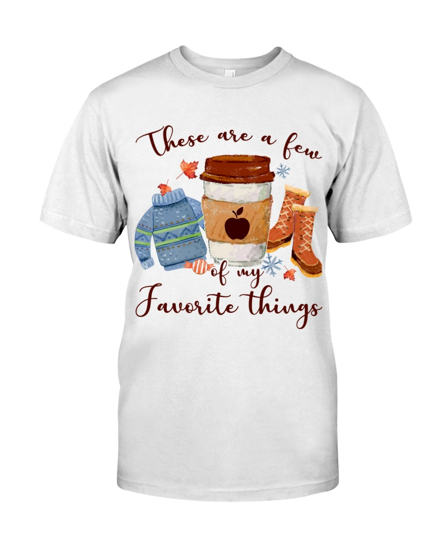 Favorite Things Teacher Classic T-Shirt
