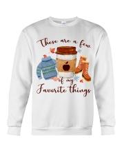 Favorite Things Teacher Crewneck Sweatshirt thumbnail