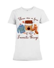 Favorite Things Teacher Premium Fit Ladies Tee thumbnail