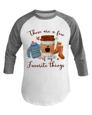 Favorite Things Teacher Baseball Tee thumbnail