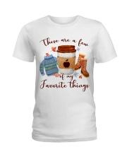 Favorite Things Teacher Ladies T-Shirt thumbnail