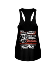 Concrete Finisher Because Your Honor Roll Student Ladies Flowy Tank thumbnail