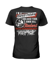 Concrete Finisher Because Your Honor Roll Student Ladies T-Shirt thumbnail