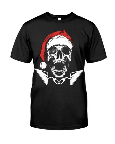 Concrete Finisher Santa Skull