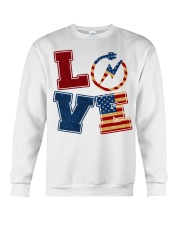 Love Electrician Crewneck Sweatshirt thumbnail
