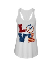 Love Electrician Ladies Flowy Tank tile