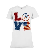 Love Electrician Premium Fit Ladies Tee tile