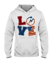 Love Electrician Hooded Sweatshirt thumbnail