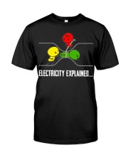ELECTRICITY EXPLAINED Classic T-Shirt front