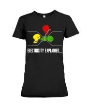 ELECTRICITY EXPLAINED Premium Fit Ladies Tee thumbnail