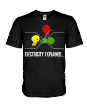 ELECTRICITY EXPLAINED V-Neck T-Shirt thumbnail
