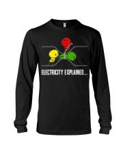 ELECTRICITY EXPLAINED Long Sleeve Tee thumbnail
