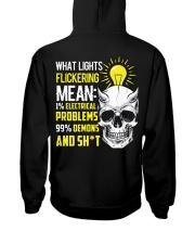 Electrician Lights Flickering  Hooded Sweatshirt thumbnail