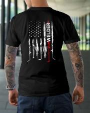 Flag Welder Shirt Classic T-Shirt lifestyle-mens-crewneck-back-3