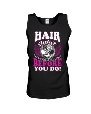 Hair Stylist Knows What You Want Before You Do Unisex Tank thumbnail