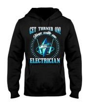 Electrician Turned On Hooded Sweatshirt thumbnail