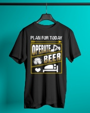 Plan For Today Operator Classic T-Shirt lifestyle-mens-crewneck-front-3