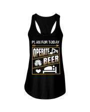 Plan For Today Operator Ladies Flowy Tank thumbnail