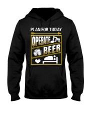 Plan For Today Operator Hooded Sweatshirt thumbnail