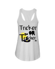 Tricker Or Teacher Ladies Flowy Tank thumbnail