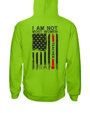 I Am Not Most Women Teacher Hooded Sweatshirt thumbnail