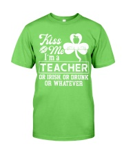 Kiss Me I'm A Teacher Tee Classic T-Shirt tile