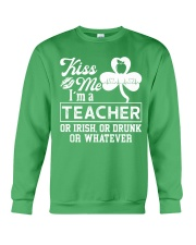 Kiss Me I'm A Teacher Tee Crewneck Sweatshirt thumbnail