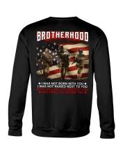 Firefighter Brotherhood Crewneck Sweatshirt thumbnail