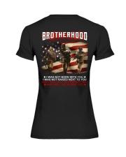 Firefighter Brotherhood Premium Fit Ladies Tee thumbnail