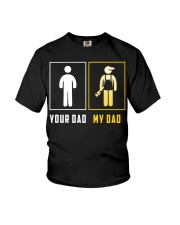Your Dad - My Dad Plumber Youth T-Shirt front