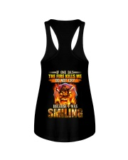 Firefighter I Was Smiling Ladies Flowy Tank thumbnail