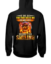 Firefighter I Was Smiling Hooded Sweatshirt thumbnail