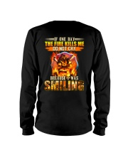 Firefighter I Was Smiling Long Sleeve Tee thumbnail