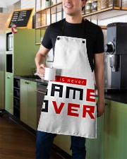 It Is Never Game Over - Ever Apron aos-apron-27x30-lifestyle-front-01