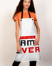 It Is Never Game Over - Ever Apron aos-apron-27x30-lifestyle-front-03