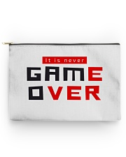 It Is Never Game Over - Ever Accessory Pouch - Large back