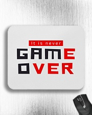 It Is Never Game Over - Ever Mousepad aos-mousepad-front-lifestyle-4