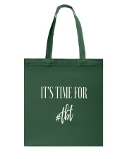 Time For TBT Tote Bag front