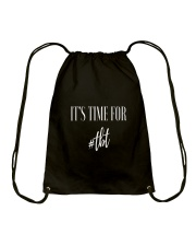 Time For TBT Drawstring Bag front