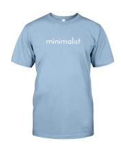 Minimalist Premium Fit Mens Tee thumbnail