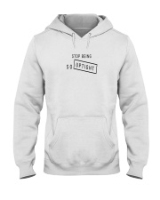 Stop Being So Uptight Hooded Sweatshirt thumbnail