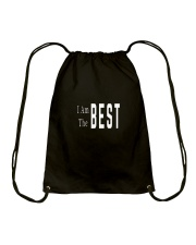 I Am The Best Drawstring Bag thumbnail