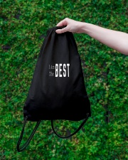 I Am The Best Drawstring Bag lifestyle-drawstringbag-front-3