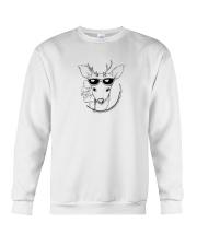 Deer Illustration Crewneck Sweatshirt thumbnail