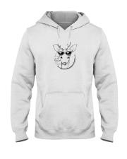 Deer Illustration Hooded Sweatshirt thumbnail