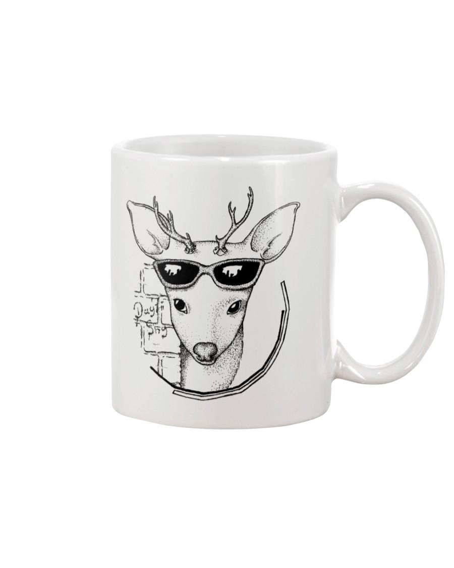Deer Illustration Mug