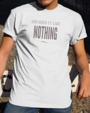 Badass Shirt - Brown Version Classic T-Shirt apparel-classic-tshirt-lifestyle-28